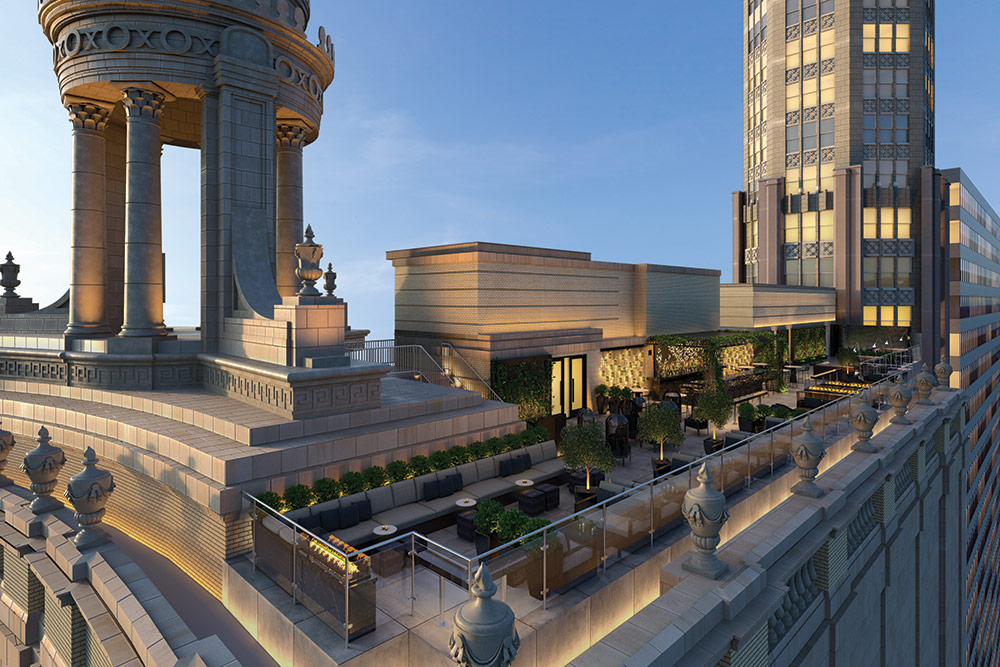Chicago s First Tri Level Rooftop Bar Opening Spring 2016. Londonhousechicago